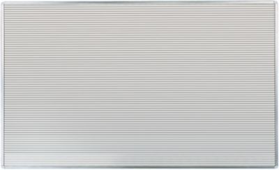 Streifen Stecktafel Visiplan, 1300x1600 mm, 73 Schienen