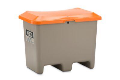 Streugutbehälter unterfahrbar, ohne Entnahmeöffnung, 200 l, L 890 x B 900 x H 690 mm