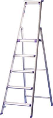 Stufenstehleiter Lila-Serie, 5 Stufen