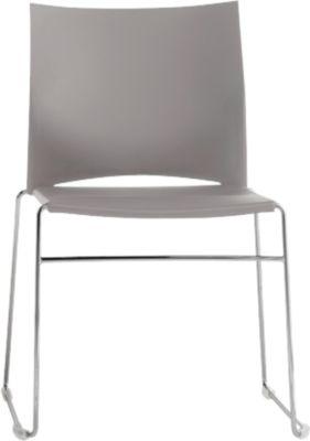 Stuhl Ariz 550 V, Kunststoff/Kunststoff, grau