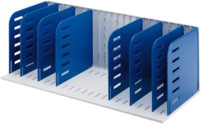 styro® Sortierstation Styrorac, 8 Trennwände, flexible Aufteilung, blau