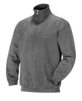 Sweatshirt 1/2 zip grau L