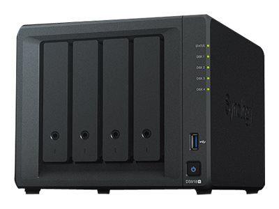 Synology Disk Station DS918+ - NAS-Server - 56 TB