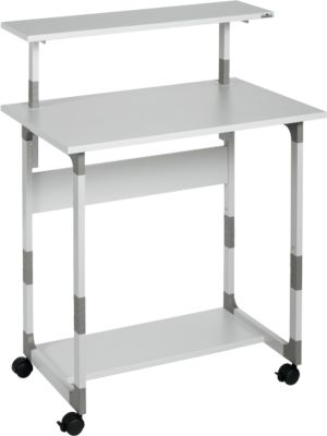 Systeem computer trolley 80 VH grijs