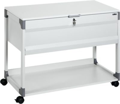 Systeem File Trolley 100 Multi Top grijs