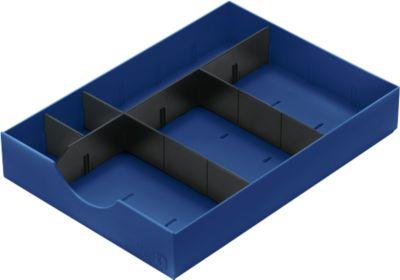 System-Schublade für Sortierstation Styro styrodoc, blau