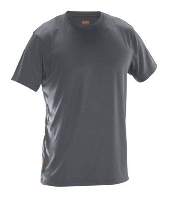 T-Shirt Spun Dye dunkelgrau 3XL