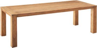 Tafel Moretti, rechthoekig, B 240 x D 100 x D 100 x H 75 cm, rechthoekig, B 240 x D 75 cm.