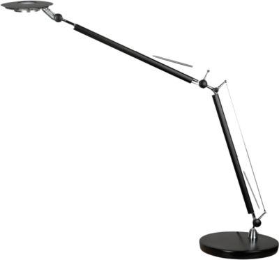 Tafellamp led 'Calgary' zwart-gloss