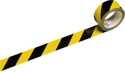 Tape geel/zwart, 6 rollen