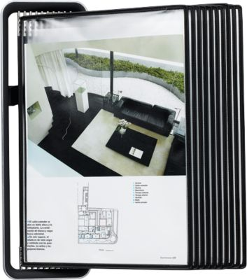 Tarifold VEO Wandstandaard, A4 formaat, incl. 10 tassen