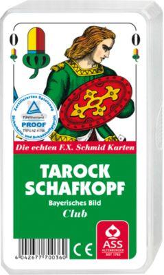 Tarock/Schafkopf-Spielkarten, neutral