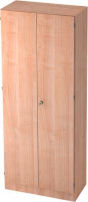 TARVIS archiefkast, 5 OH, afsluitbaar, b 800 x d 420 x h 2004 mm, notenhoutdecor