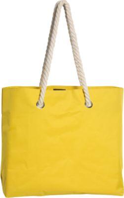 Tasche Capri, inklusive 1-farbiger Werbeanbringung + Grundkosten gratis, gelb