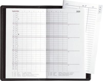 Taschenkalender Classic Line, 32 Seiten, mit Adressheft