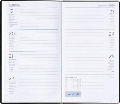 Taschenkalender Clubline, internationales Kalendarium