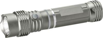 Taschenlampe COB CREE® LED-Leuchte, Aluminium, COB & CREE Technologie, mit Magnet, inkl. Batterien, Lasergravur 30 x 10 mm