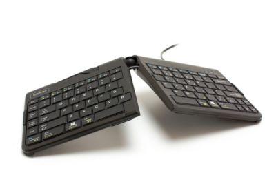 Tastatur Goldtouch Travel Go 2, stufenlos verstellbar