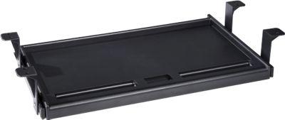 Tastaturschublade, ausziehbar, zum Anschrauben, für Tastaturen bis 500 mm Breite