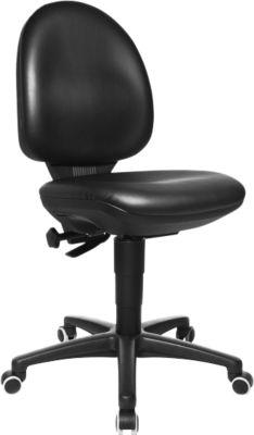 TEC 50 bureaustoel, met wieltjes voor harde vloeren