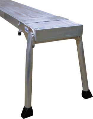 Telebord, aluminium, lengte 3 meter, incl. bordstandaard