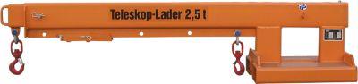 Telescooplader KT 2,5 oranje gelakt