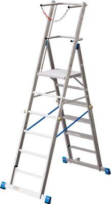 Telescopische platformladder Krause, 6-8 sporten