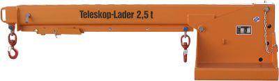 Teleskoplader KTH 2,5, 218 kg, orange lackiert