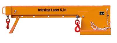 Teleskoplader KTH 5,0, 250 kg, orange lackiert