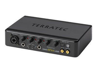 TERRATEC DMX 6fire - Audio-Schnittstelle