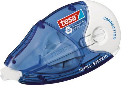 tesa® Correctie roller ecoLogo®, navulbaar, 8,4 mm x 14 m