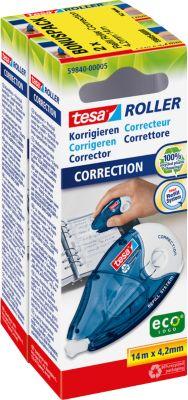 tesa® Korrekturroller Sparpack, 14 x 4,2 mm, 2 Stück