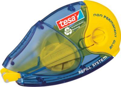 tesa® navulbaar roller, niet permanent, 8,4 mm x 14 m