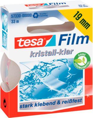 tesa® plakband Crystal, 19 mm x 33 m, 10 Rollen