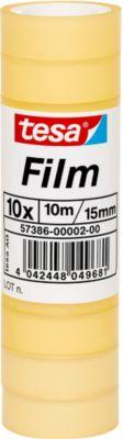 tesa®  plakband Film, 15 mm x 10 m, per pak van 10 rollen