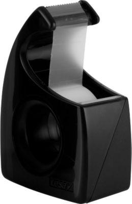 tesa® plakbandafroller manuel Easy Cut, 19 mm x 10 m, zwart