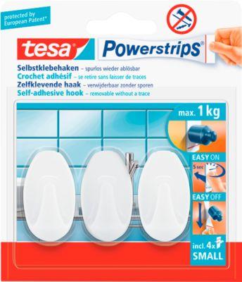tesa Powerstrips Haken Small, oval