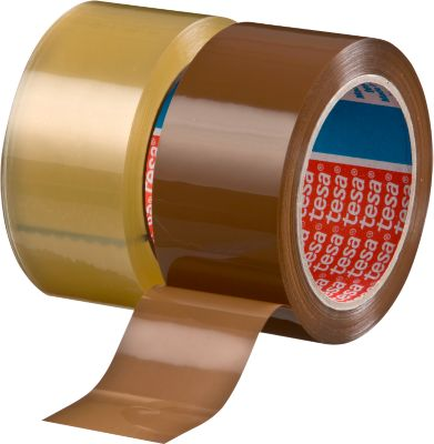 tesa® verpakkingstape PP  4195, 50 mm x 66 m, 6 rollen, transparant