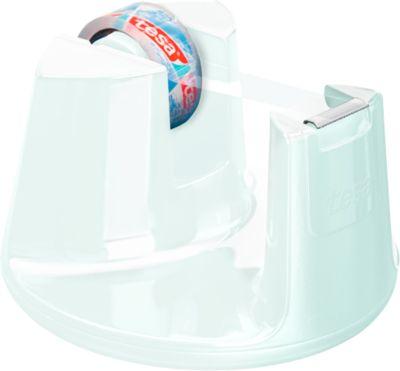 tesafilm® Tischabroller Easy Cut Compact, weiß