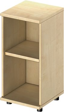TETRIS WOOD boekenkast, 2 OH, B 400 x D 421 x H 800 mm, ahorndecor