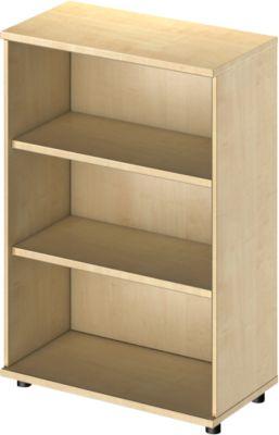 TETRIS WOOD boekenkast, 3 OH, B 800 x D 421 x H 1160 mm, ahorndecor
