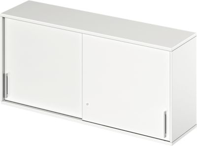 TETRIS WOOD opzetschuifdeurkast, 2 OH, b 1600 mm, wit