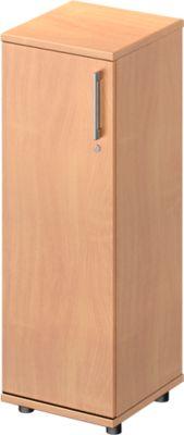TETRIS WOOD vleugeldeurkast, 3 OH, b 400 mm, deur links, hoogte icl. glijders, sokkel (optioneel), beukendecor