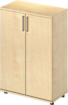 TETRIS WOOD vleugeldeurkast, 3 OH, b 800 mm, hoogte icl. glijders, sokkel (optioneel), ahorndecor