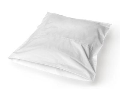 Textil-Versandtaschen aus PE, 34 x 42 cm, 50 µ, weiß