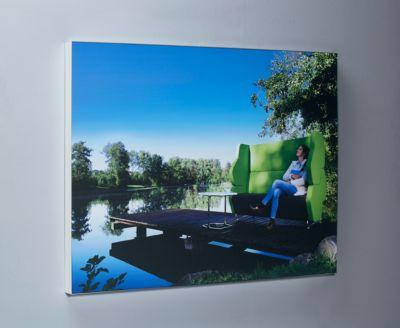 Textilspannrahmen TEXFRAME, Aluprofil 17 mm silber eloxiert, 3003 x 2003 mm, inkl. Textil-Digitaldruck