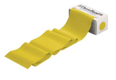 Thera Band, pour l'entraînement musculaire des articulations, faible, jaune