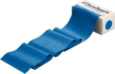 Thera-Band, voor gewrichtsontzienende spiertraining, extra sterk, blauw, voor een gewrichtsontzienende spiertraining