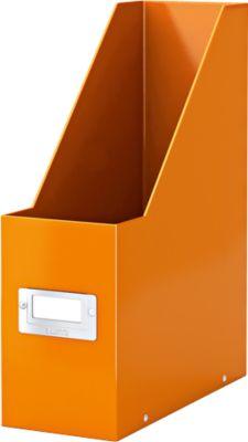 Tijdschriftencassette C& S -  oranje