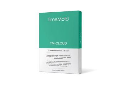 TimeMoto Cloud Essential, Jahresabonnement, bis 25 Benutzer, erweiterbar